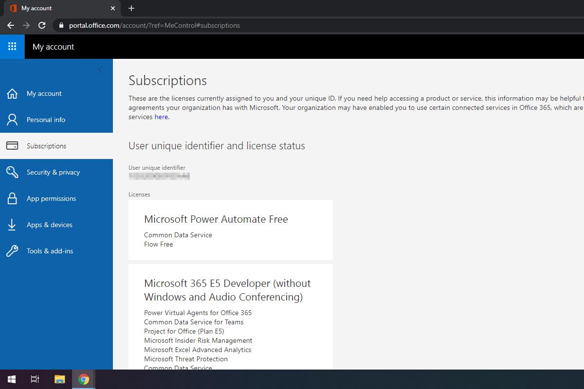 Come provare Microsoft 365 Developer gratis