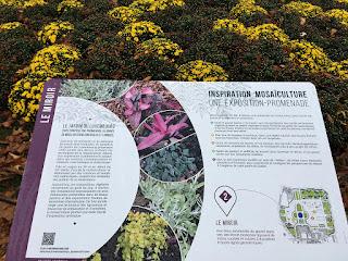 Informative of gardening design concept of Tuileries
