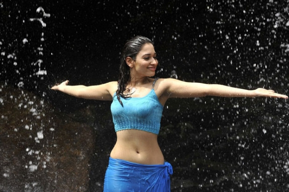 Tamanna Bhatia In Saree: Tamanna Cute And Hot: Tamanna Bhatia Hot Hip