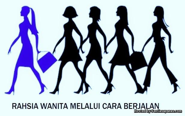 Cara Berjalan Wanita
