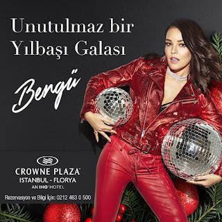 Crowne Plaza İstanbul İstanbul Yılbaşı Programı 2020 Menüsü