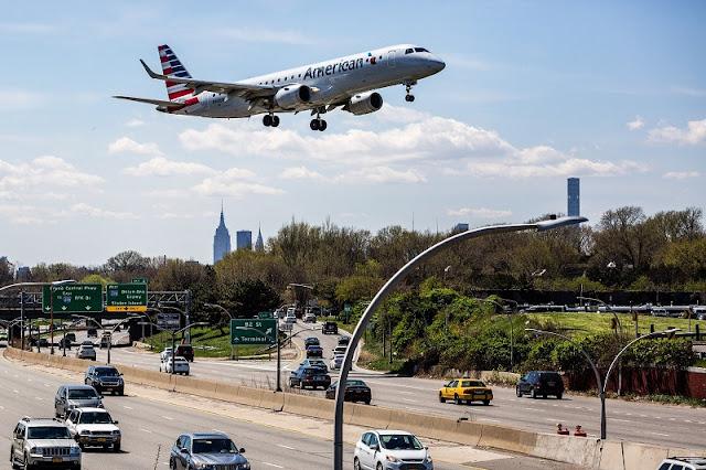 Tempo de voo do Brasil para Nova York