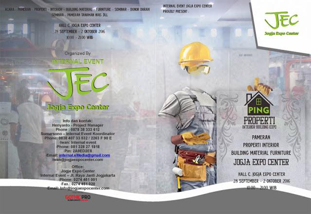 PING Expo Jogja - Properti Interior Building JEC