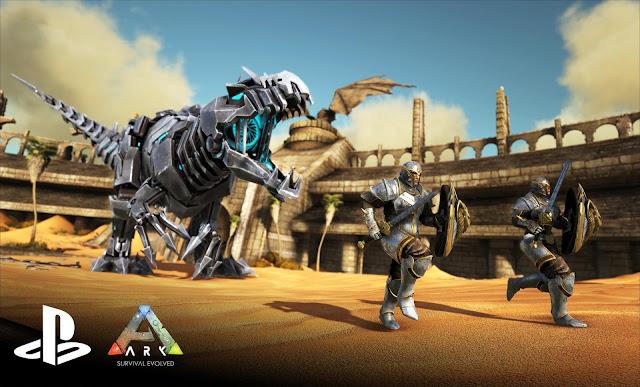 ARK: Survival Evolved llegará a PS4 el 6 de diciembre con la nueva expansión