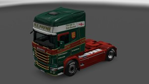 H.E.Payne Green Skin for Scania RJL