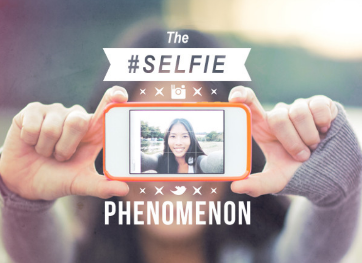 image: Selfie The Rise Of Self Photos [INFOGRAPHIC]