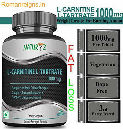 Fat Loss Supplement,  L CARNITINE Fat Burner , How & when to use it