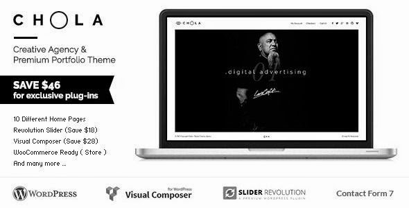 CHOLA - Creative Agency & Premium Portfolio Theme