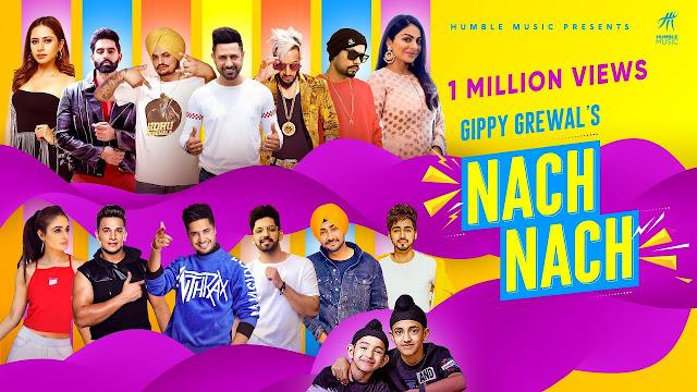 NACH NACH Lyrics in Hindi & English | Gippy Grewal | Sidhu Moose Wala | Bohemia | Jassie G