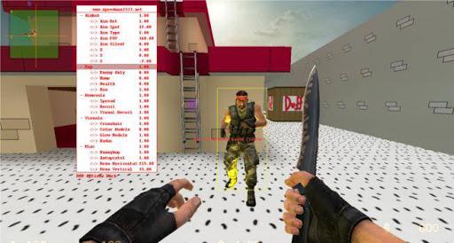 Скачать wallhack+aimbot для css v64