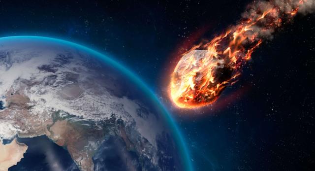 К нашей планете приближается огромный астероид (Видео)