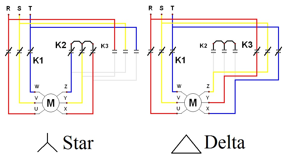 Star  U0026 Delta Wiring Diagram
