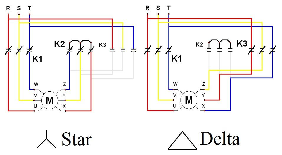 Star & Delta Wiring Diagram   Electrical Engineering Blog