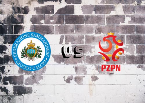 San Marino vs Polonia  Resumen