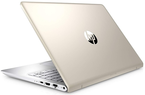 HP Pavilion 14-bf013ns: panel Full HD de 14'' + procesador Core i7 + disco duro SSD (256 GB)
