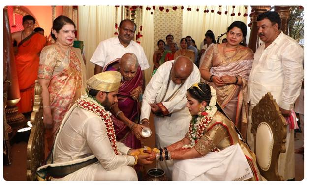 Nikil marriage
