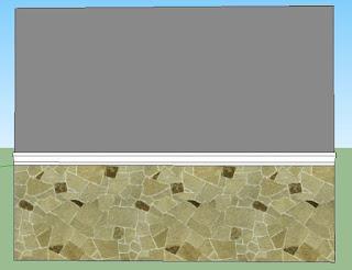Contoh Desain Tembok Alami
