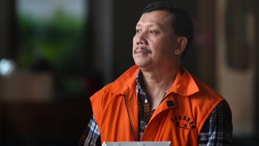 KPK Perpanjang Penahanan Eks Sekda Jabar Iwa Karni
