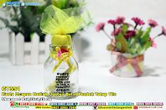 Kartu Ucapan Hadiah Quotes Botol Pendek Tutup Tile