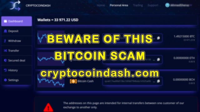 cryptocoindash.com scam (confirmed) Avoid Bitcoin Scam 2021 Crypto Scam Crypto Fraud