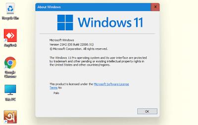 Windows 11 Version View
