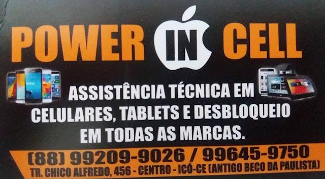 "INAUGURADA EM ICÓ ""POWER IN CELL"""