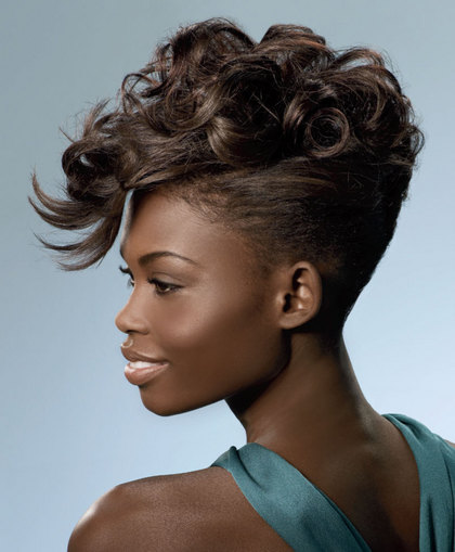All Fashion Show Trendy American Hairstyle Updos African