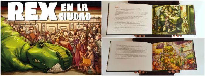 cuentos y libros infantiles juveniles para +8, 12 años rex en al ciudad gabo león