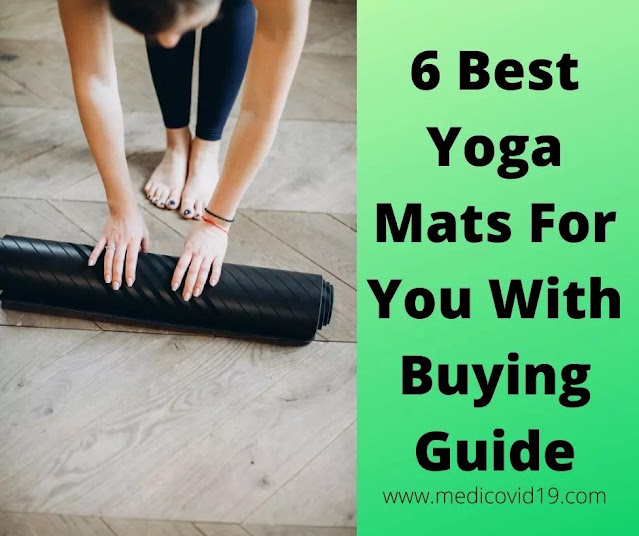 6 Best Yoga Mats For You With Buying Guide