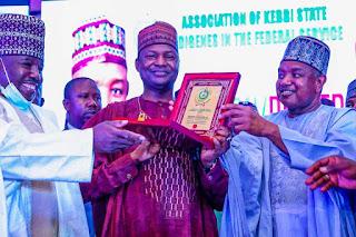 Photos: Kebbi Governor extols Justice Minister, Abubakar Malami, SAN