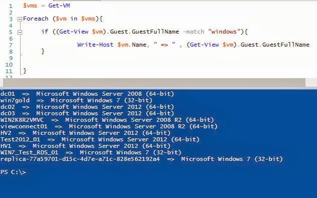 VMWare & PowerCLI : $vm Guest Objects , using Get-View   IT Professional