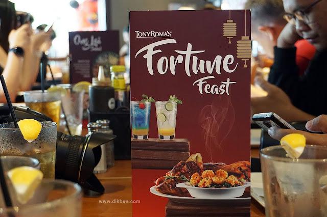 Sajian Enak Fortune Feast Di Tony Roma's