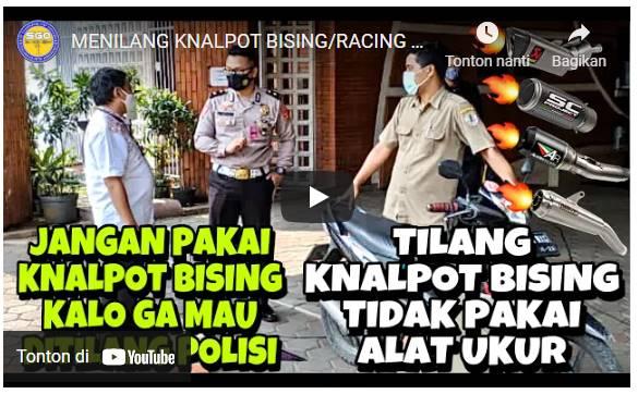 Polisi Minta Maaf Atas Kesalahan Razia Knalpot Bising, Loh Kenapa ?