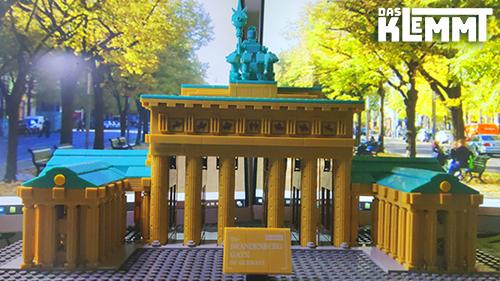 WANGE 6211 Brandenburg Gate Berlin - DAS KLEMMT