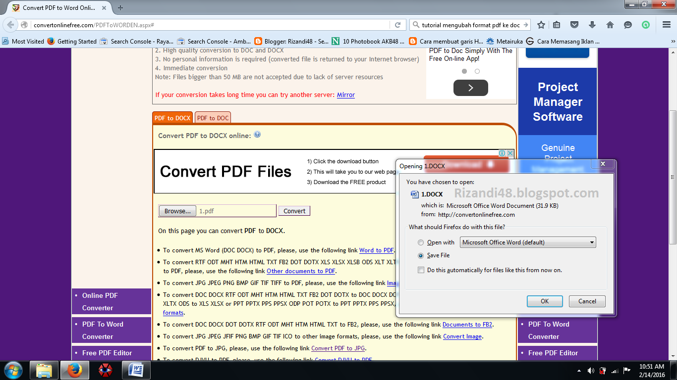pdf to docx file converter