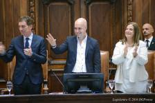 Horacio Rodriguez Larreta prometió obras en el inicio del ciclo legislativo