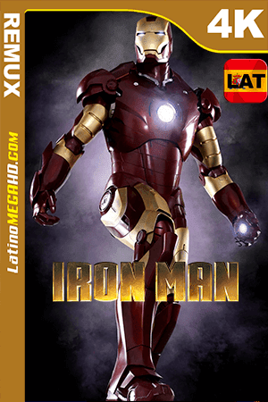 Iron Man (2008) Latino HDR Ultra HD BDRemux 2160P ()