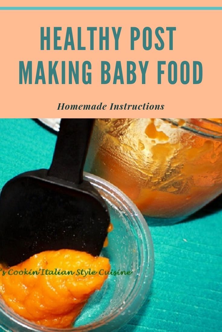 this is a pin on how to make baby food using sweet potatoes