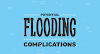 Complications of Flood Damage #infographic