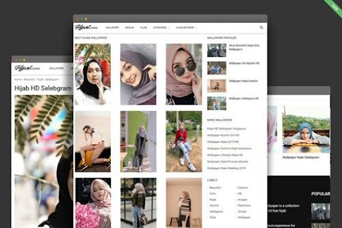 Generate Wallpaper - Gallery Theme Style for Blogger