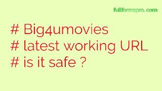 Big4umovies 720p, 300mb movies