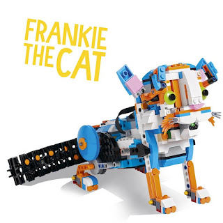 Lego Boost Creative Kit 17101 Frankie The Cat Review