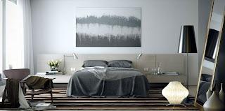 dormitorio moderno y elegante