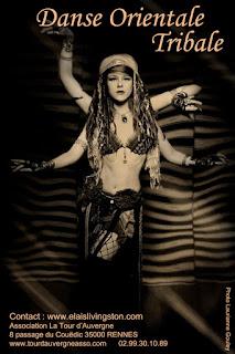 Cours, danse, tribale, ATS, tribal, Fusion, Rennes, Tour d'Auvergne, Elaïs Livingston, Stage, Festival, Ille et Vilaine, Arborescence,