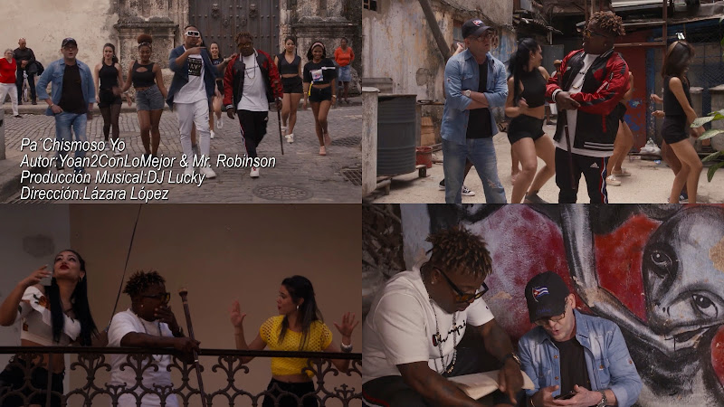 Kola Loka - ¨Pa chismoso yo¨ - Videoclip - Directora: Lázara López. Portal Del Vídeo Clip Cubano