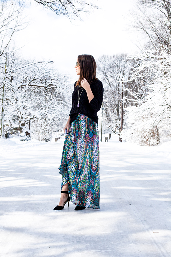 Here&Now: Shabby Apple maxi skirt giveaway