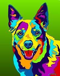 El perro arcoíris