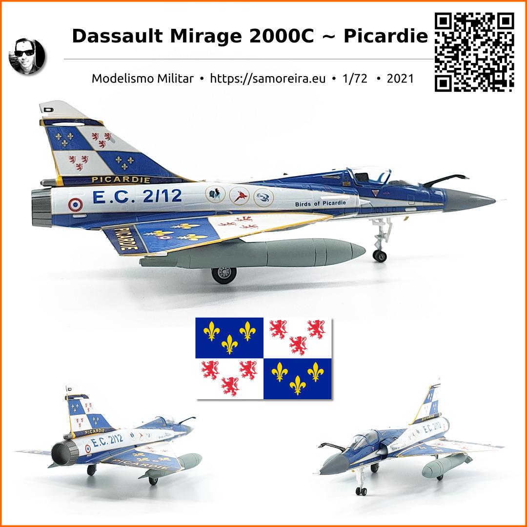Dassault-Breguet Mirage 2000 C ~ Picardie