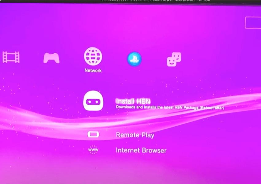 Cara Update PS3 HEN 4.85 (Sangat Gampang!)