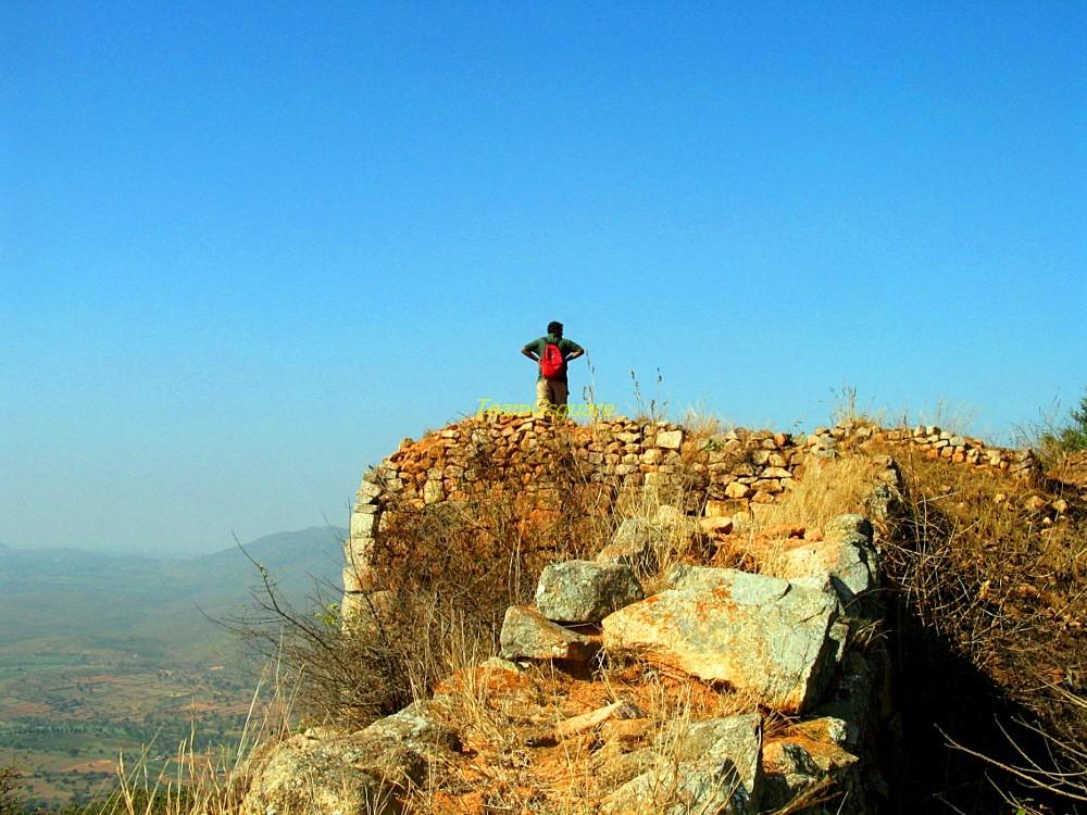 Fort walls, Makalidurga